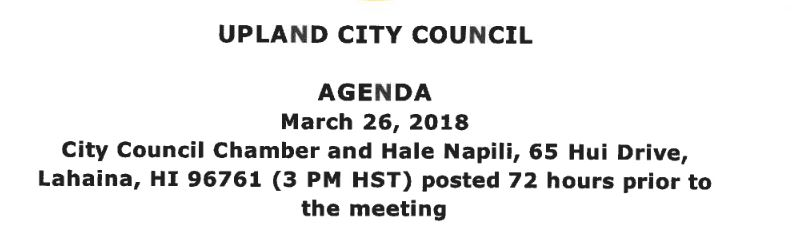 Council Hawaii address