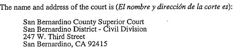 Memorial court address