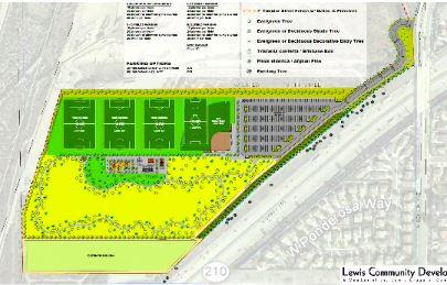 Proposed Sports Park Land Plan