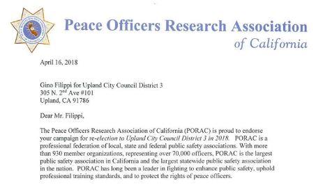 gino Police endorsements