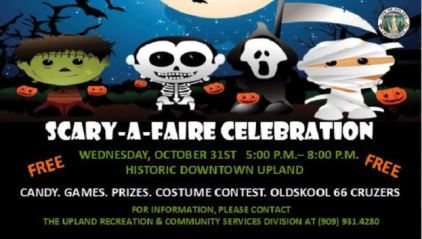 Halloween Children's Event City of Upland