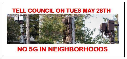 On Tues, May 28th, Council Set To Adopt The Most Permissive 5G Ordinance Imaginable & That's Exactly Why, City Attorney James Markman Should Be Fired Immediately! Plus, New Council Frowns Upon Slum Grants For Millionaires & Seizes Control Of Approval Process!